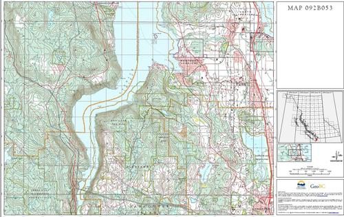 Free Digital Maps British Columbia Magazine