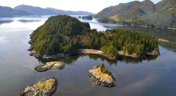 Echo Island is located in the North Eastern end of Lake Carleton, in the County of Yarmouth and Province of Nova Scotia, Canada. It is the larger and most westerly of the two small islands lying about five hundred yards south of the foot of Nine Partner Falls.