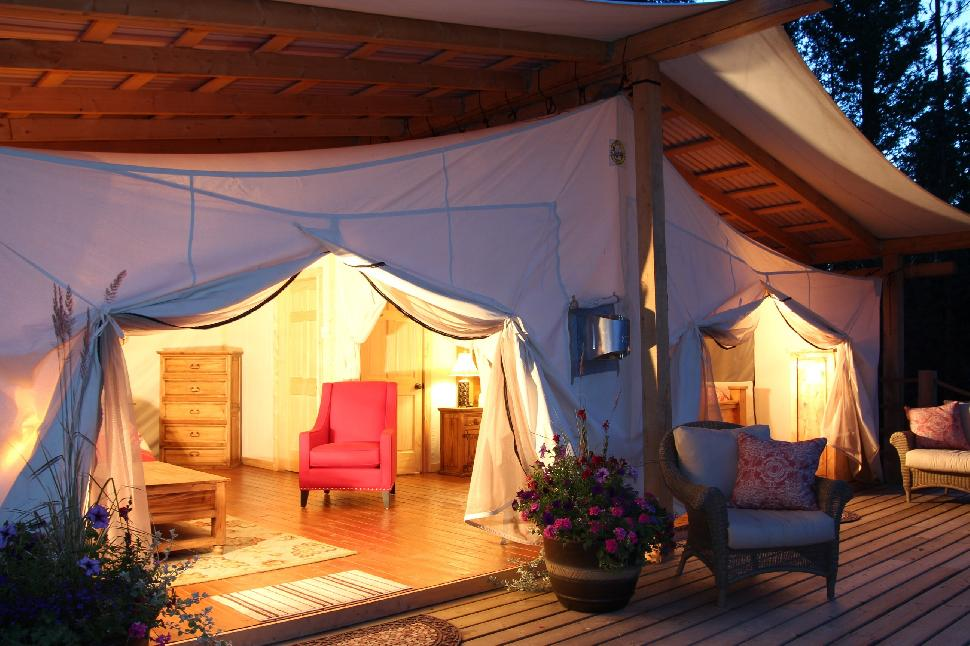 Where To Go Glamping In British Columbia British