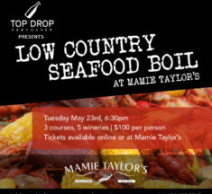 Low Country Seafood Boil at Mamie Taylor's May 23, 2017
