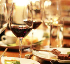 Winemaker's Dinner With Three Sisters Winery May 26, 2017