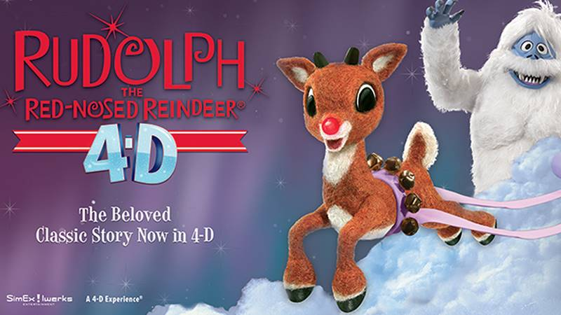 Rudoph the Red-Nosed Reindeer in 4D