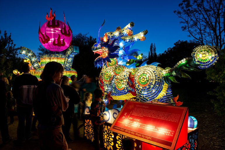 Chinese Lantern Festival at the PNE