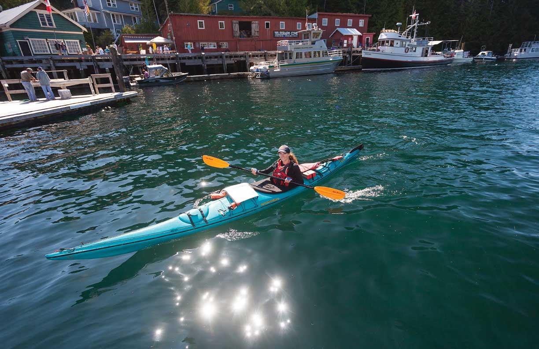 Telegraph Cove kayaker