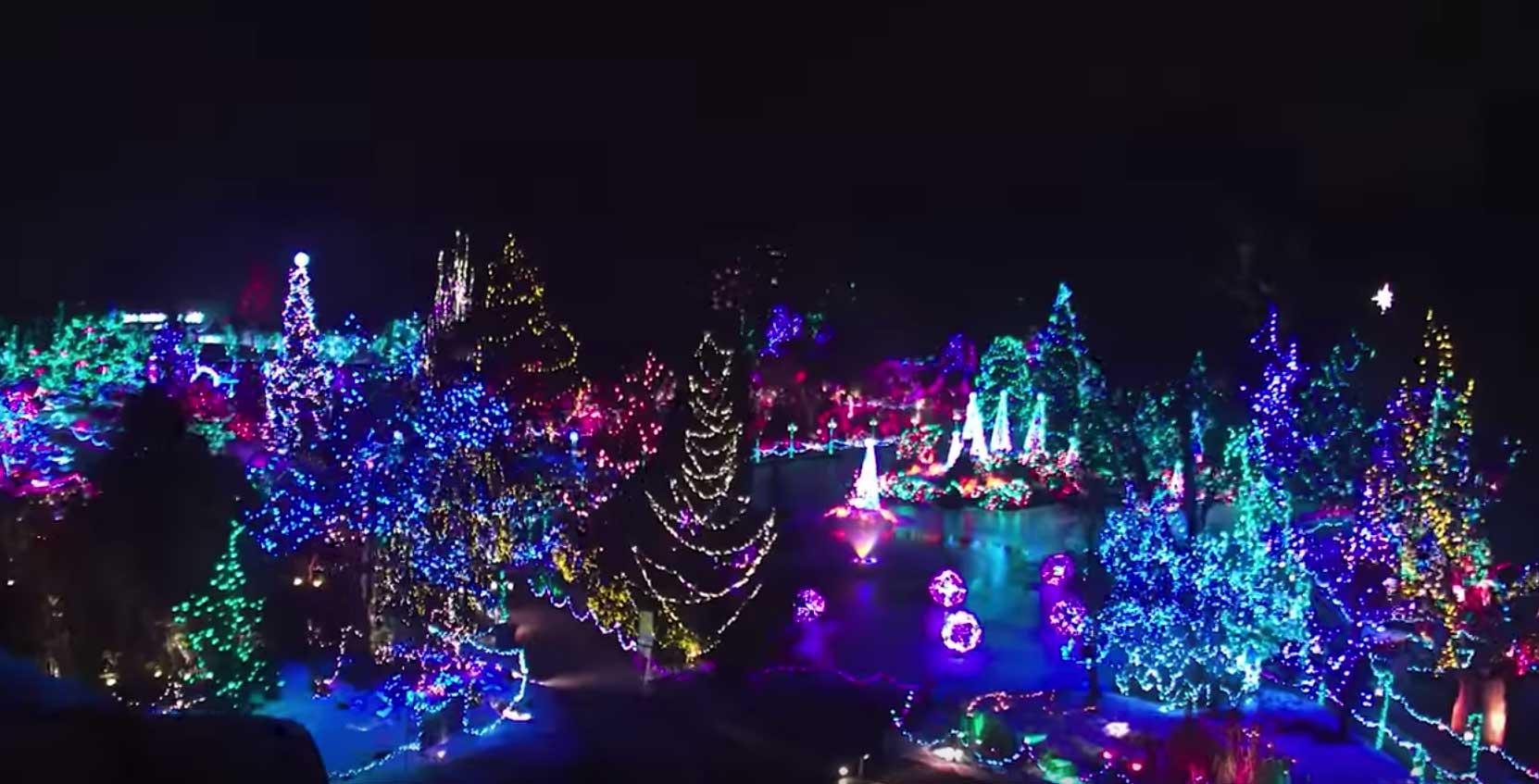 vandusen2018 - Van Dusen Gardens Christmas Lights 2019
