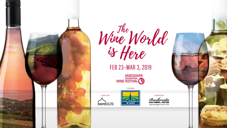 Vancouver International Wine Festival 2019