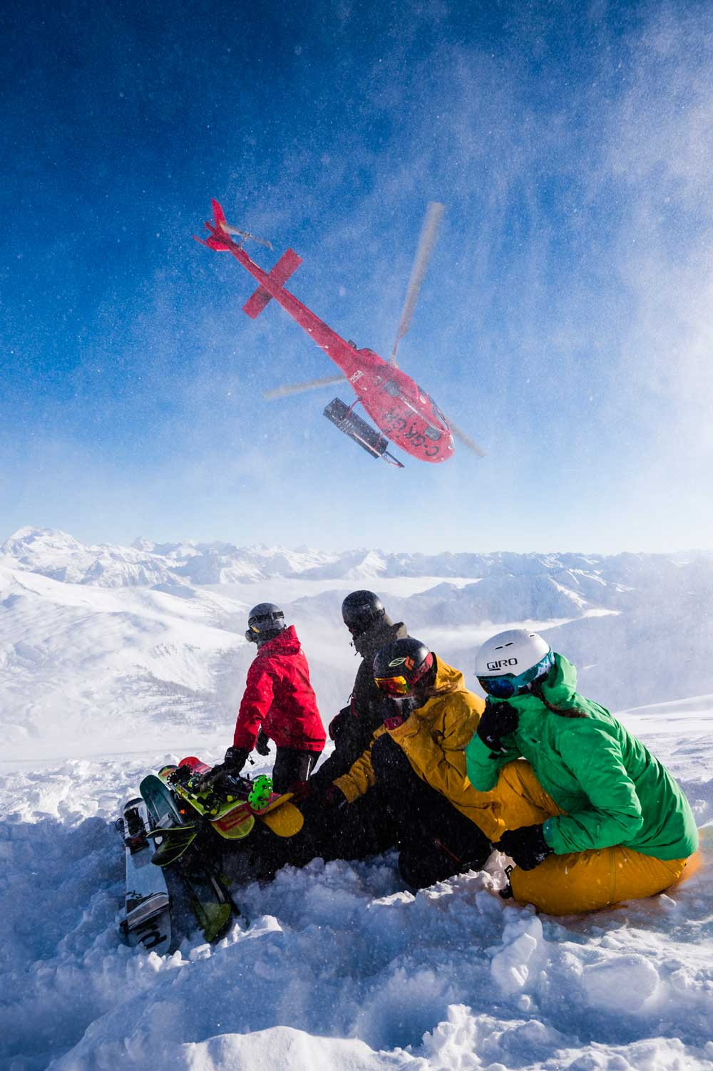 Mica Heli-skiing is world-famous for its heli-accessed pillow lines. Credit: Mattias Fredriksson.