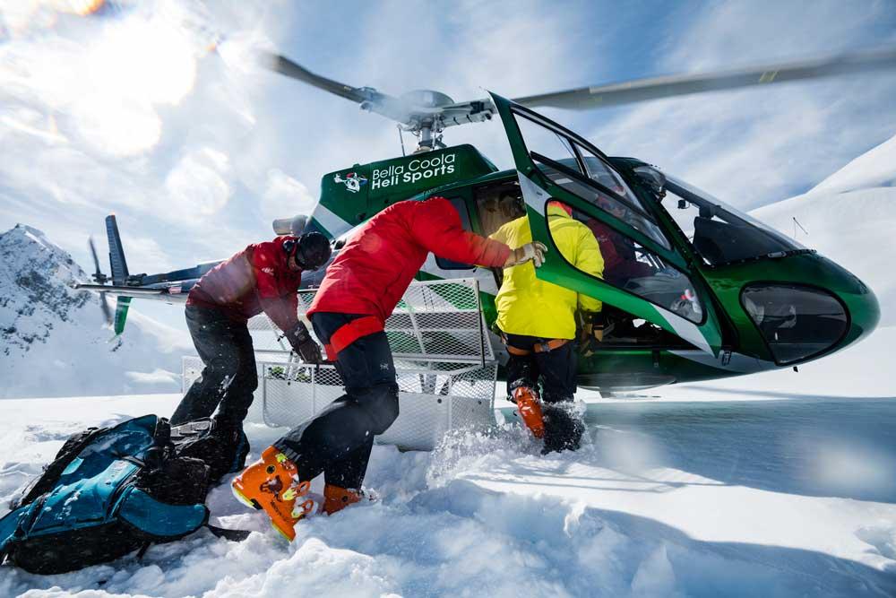 Bella Coola Heli Sports is well known in ski movie circles. Credit: Mattias Fredriksson.