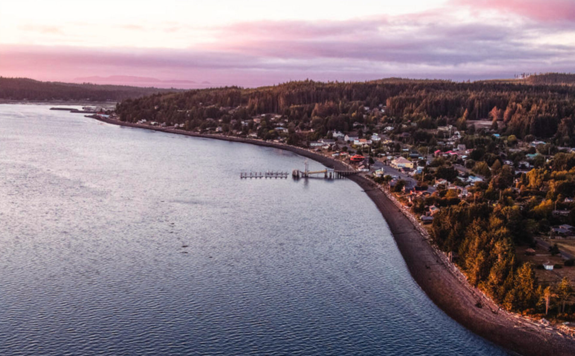 Once a utopia and booming fishing village, isolated Sointula is a peaceful weekend getaway. Photo by Daniel Hillert.